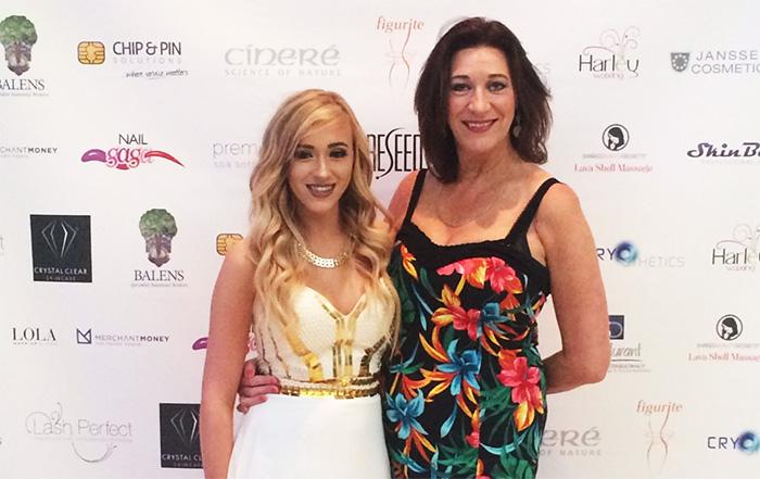 Anna Keely and Erika Copeland